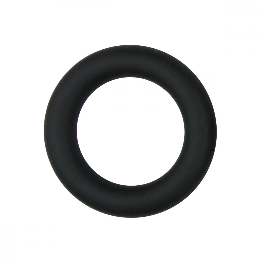 Эрекционное кольцо Easytoys Silicone Cock Ring Black small ET085BLK-S