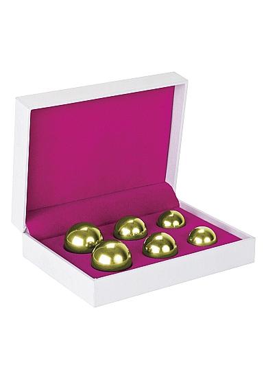 Вагинальные шарики Ben Wa Balls Set Gold SH-SHT152
