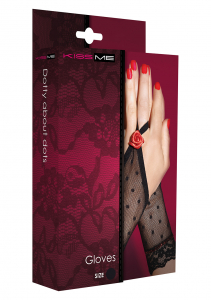 перчатки DOTTY ABOUT DOTS GLOVES BLACK OS 30584-02-99