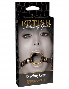 Кляп FF GOLD O RING GAG 397623PD