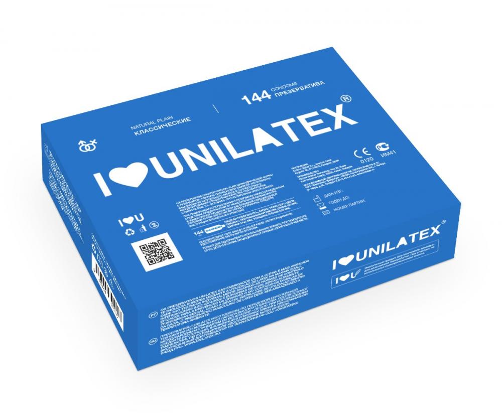 Презервативы Unilatex Natural Plain 144 шт 3000Un