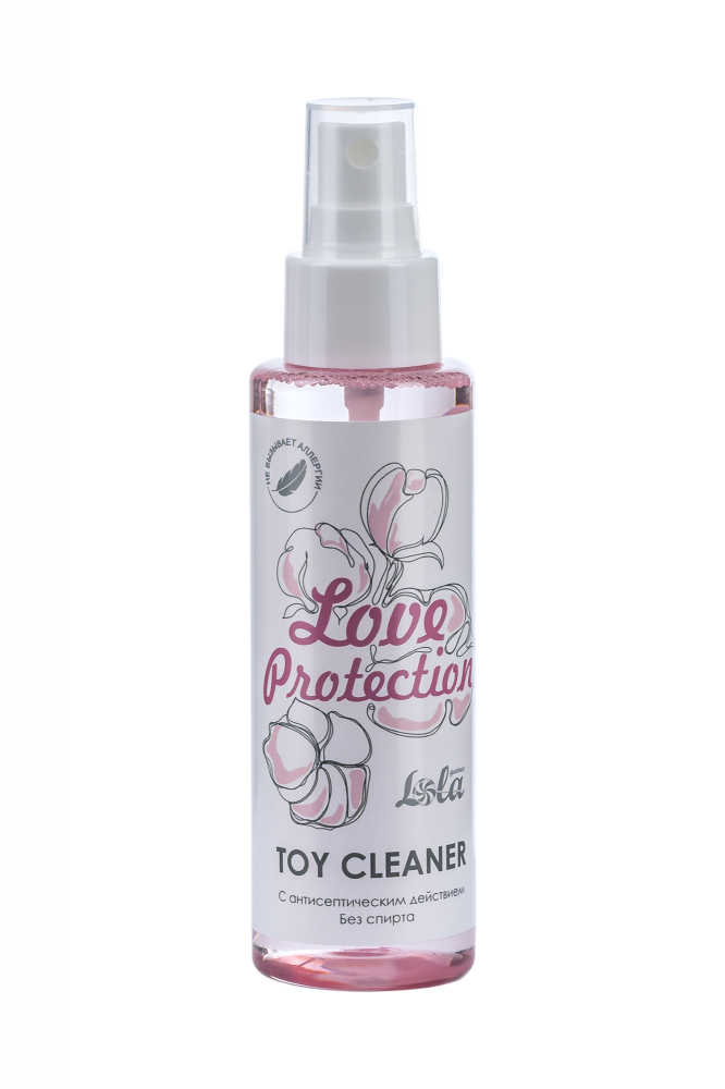 Лосьон гигиенический антисептический Toy cleaner Love Protection 110 мл 1819-51Lola