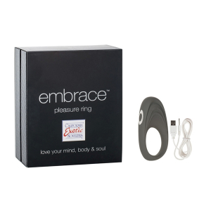 Виброкольцо Embrace pleasure rings серое 4616-10BXSE