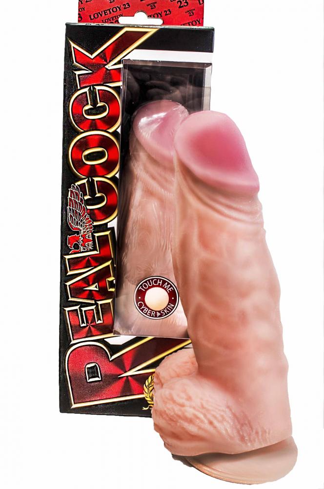Фаллоимитатор Гигант на присоске Кибер-кожа 718903ru