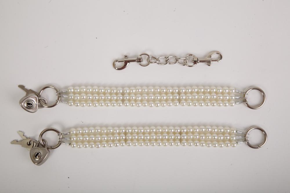 Наножники жемчужные белые 47500-2-MM