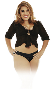Трусики с вибропулей Plus Size Black 402623PD