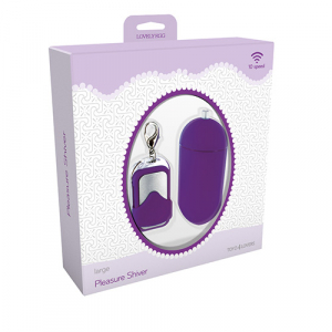 Вибромасажер VIBRATING EGG PLEASURE SHIVER LARGE PURPLE T4L-801010