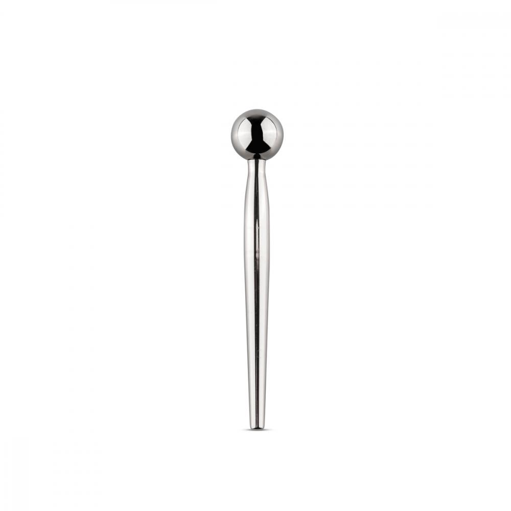 Уретральный Стимулятор Sinner Metal Solid Penis Plug with Ball SIN044
