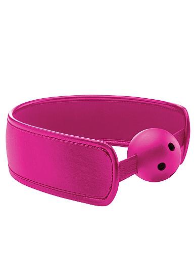Кляп Brace Balll OUCH! Pink SH-OU121PNK