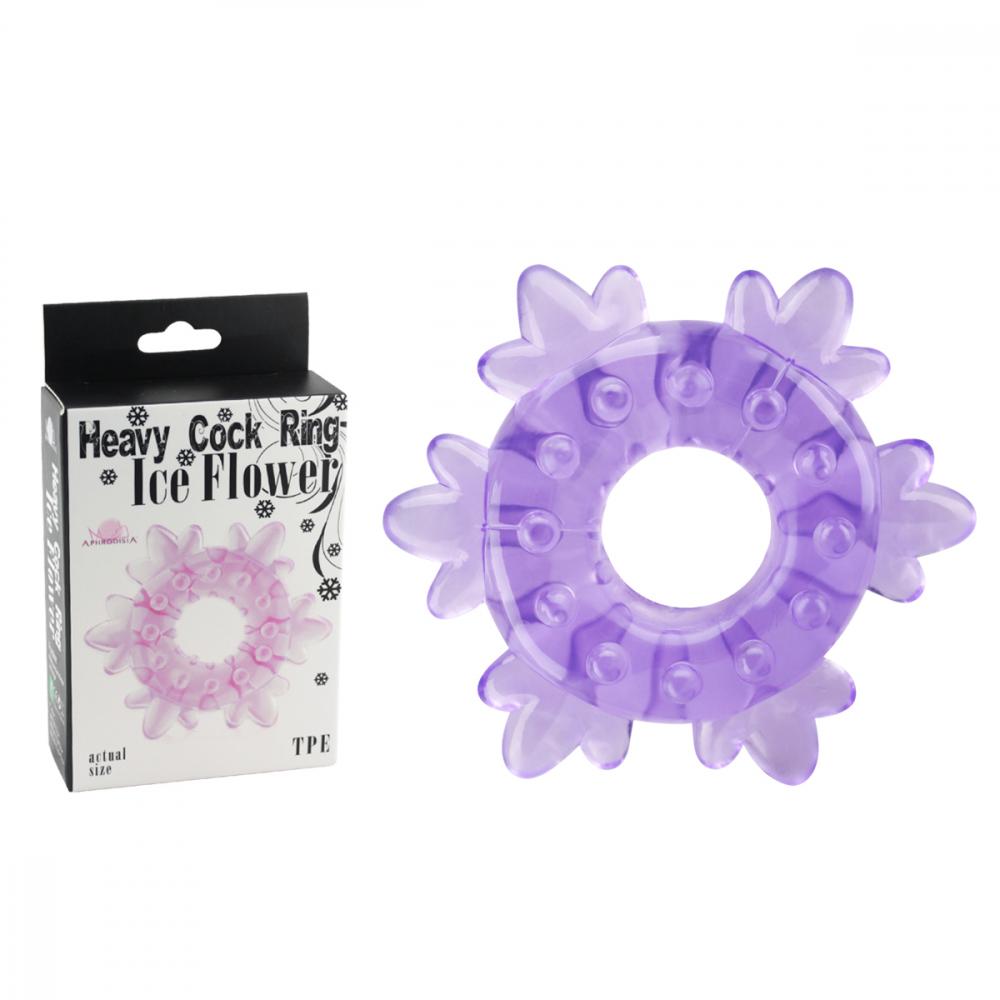 Кольцо Heavy Cock Ring- Stimulator Purple 10011001