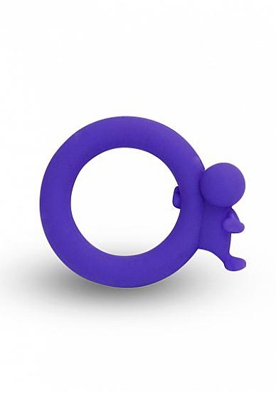 Кольцо на пенис Village People Harry Purple SH-SLI020