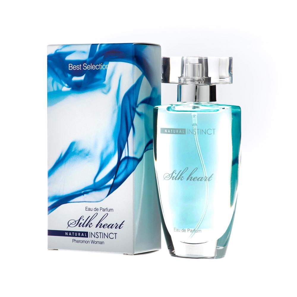 """Духи """"Natural Instinct"""" женские Best Selection Silk Heart 50 ml"""