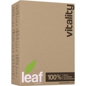 Вибромассажер LEAF VITALITY VIBRATING GREEN 28213-LF
