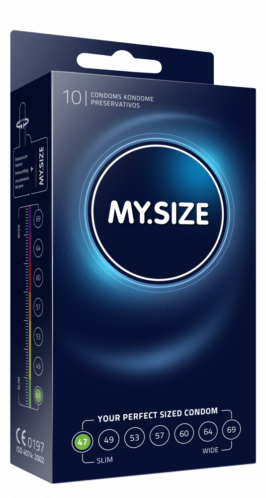 Презервативы MY.SIZE №10 размер 47 3834MS