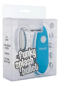Вибропуля Funky Splash Blue 10086TJ