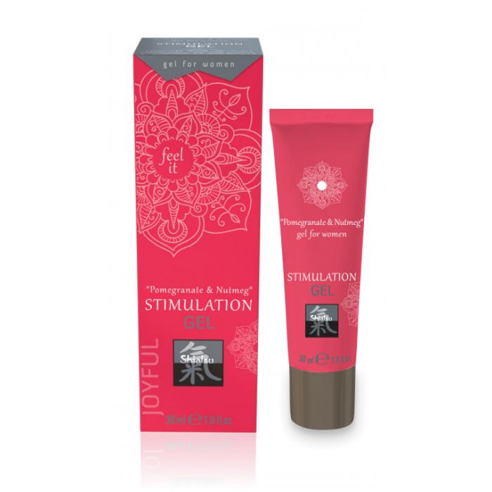 Интимный Гель для Двоих Shiatsu STIMULATION GEL Pomegranate & Nutmeg 30 мл. 67210