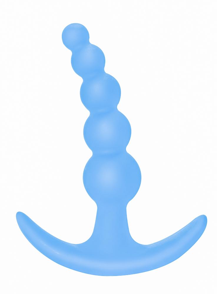 Анальная пробка Bubbles Anal Plug Blue 5001-02lola