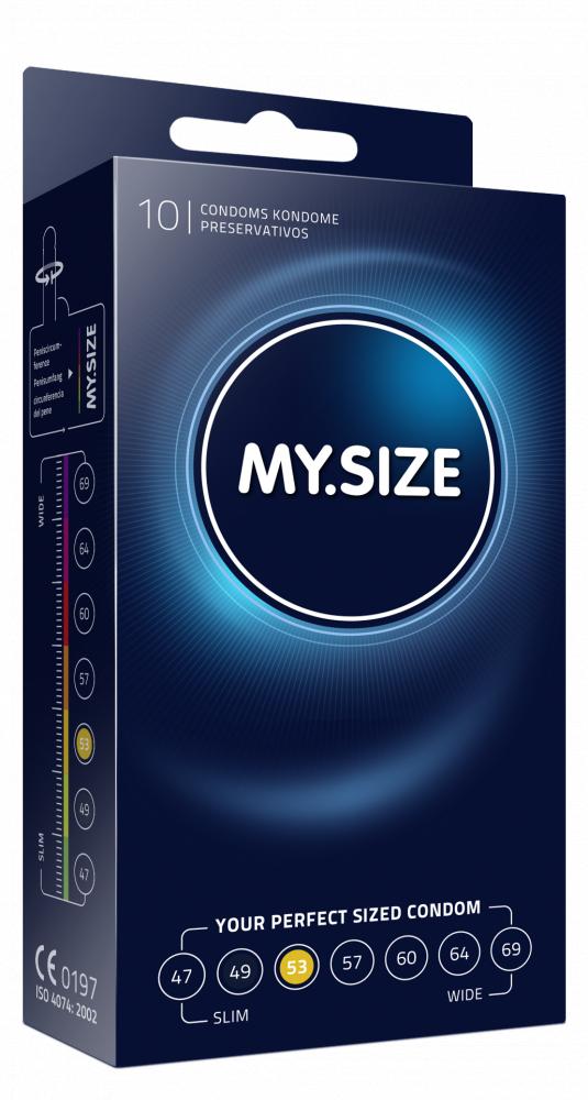 Презервативы MY.SIZE №10 размер 53 2604MS