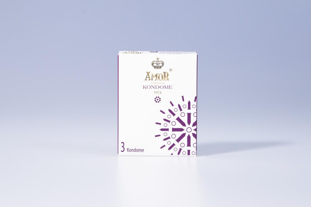 Презервативы Amor Mix №3 3828AM