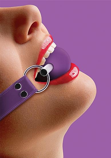 Кляп OUCH! фиолетовый SH-OU099PUR