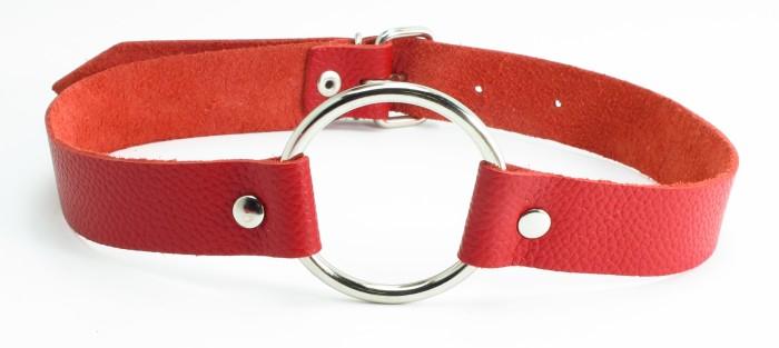 Кляп кольцо красный 60003ars