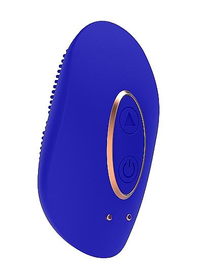 Клиторальный стимулятор Mini Rechargeable Clitoral Stimulator Precious Blue SH-ELE010BLU