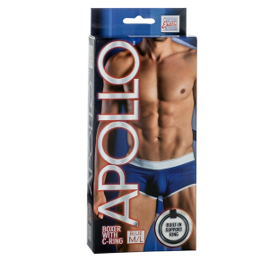 Мужские трусы Apollo Boxer with C-Ring - BLU M/L 4202-10BXSE