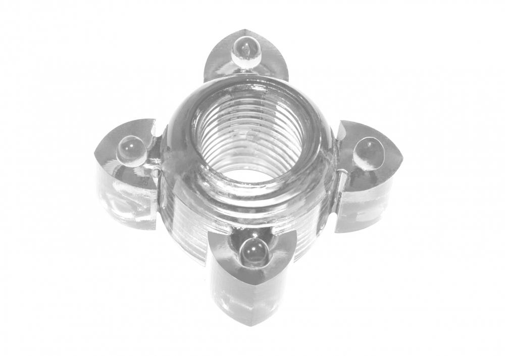 Эрекционное кольцо Rings Screw white 0112-40Lola