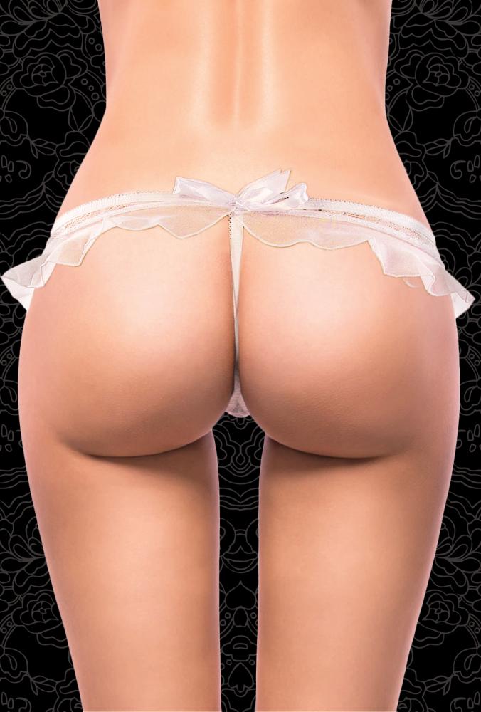 Стринги женские белые размер 46-48 2681-1-46-48