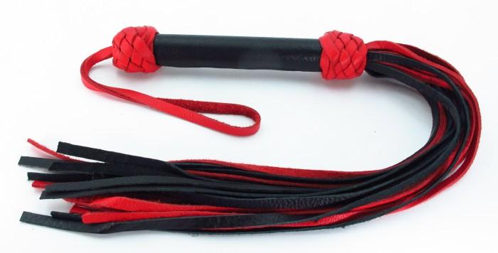 Плеть черно-красная Турецкие головы 54030ars