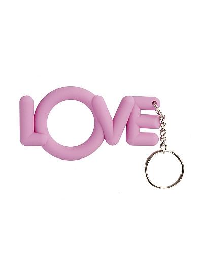 Брелок Cockring Love Pink SH-SHT057PNK