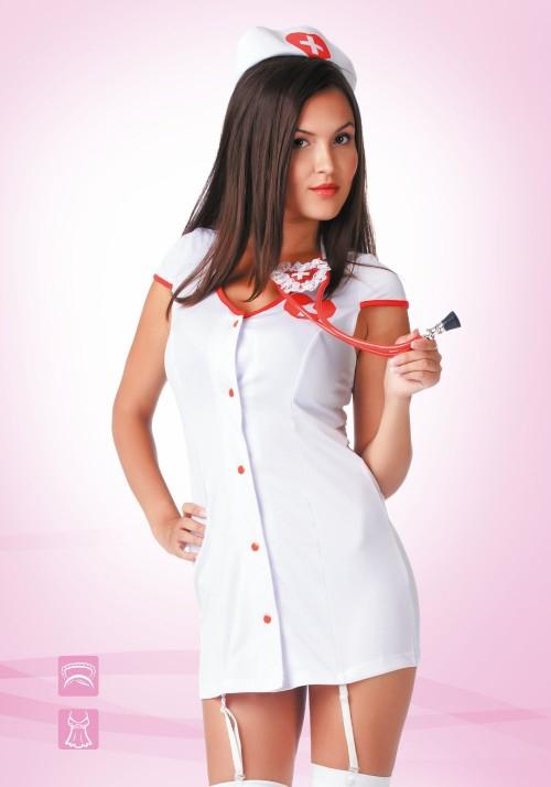 """Костюм """"Доктор любовь"""" белый 02202L/XL"""
