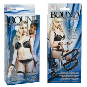 Комплект для бондажа Bound By Diamond Thigh Restraints 2659-20BXSE