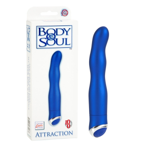 Вибратор BODY&SOUL ATTRACTION BLUE 0535-45BXSE