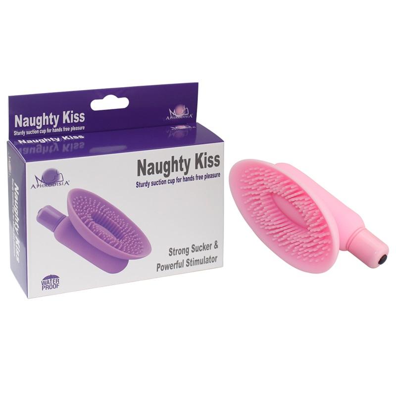 Вакумная помпа розовая Naughty Kiss 54003-pinkHW