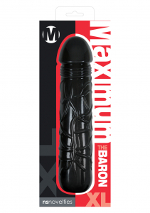 Фаллоимитатор MAXIMUS BARON BLACK XL NSN-0416-23