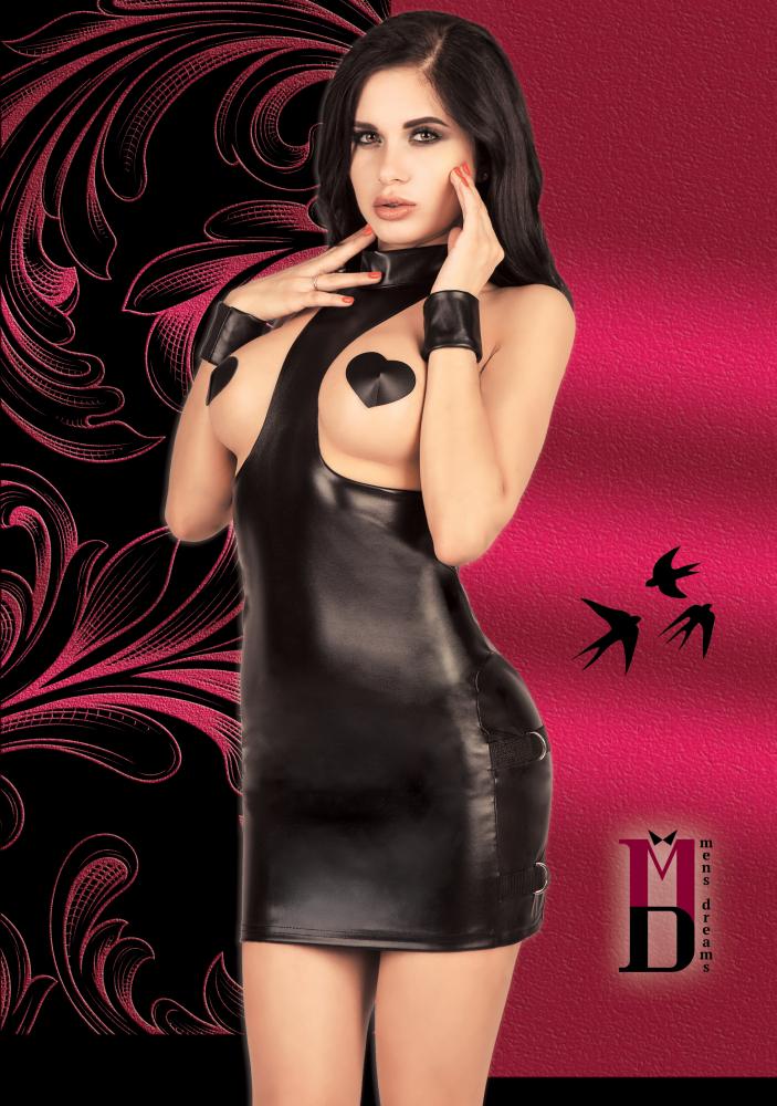 Платье с открытой грудью S/M Men's dreams 3083md