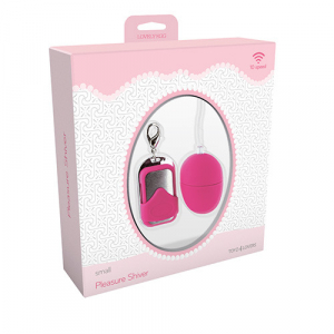 Вибромасажер VIBRATING EGG PLEASURE SHIVER SMALL PINK T4L-801001