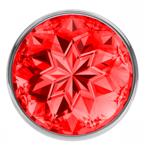 Анальная пробка Diamond Red Sparkle Small 4009-06Lola