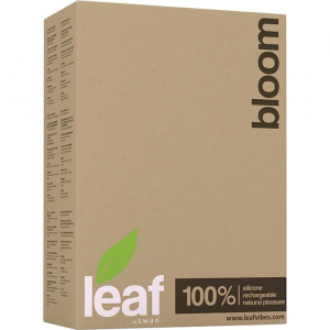 Вибромассажер LEAF BLOOM VIBRATING GREEN 28413-LF