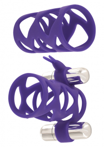 Насадка DOUBLE TICKLER SLEEVE SET PURPLE 10251TJ