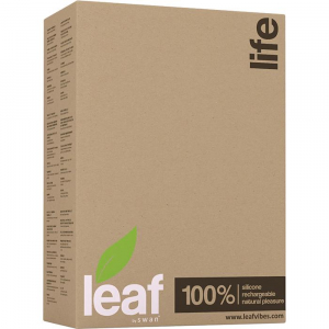 Вибромассажер LEAF LIFE VIBRATING GREEN 28113-LF