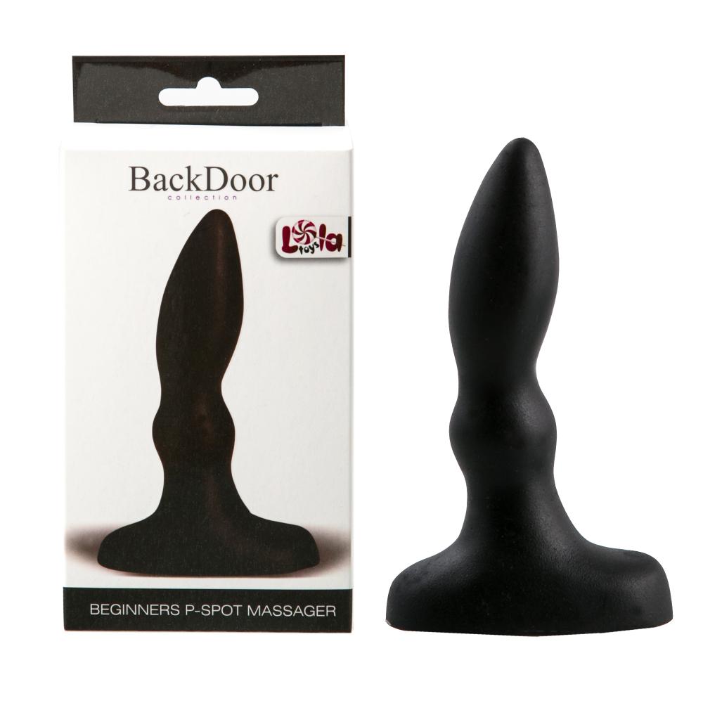Анальный стимулятор Beginners p-spot massager black 510238lola