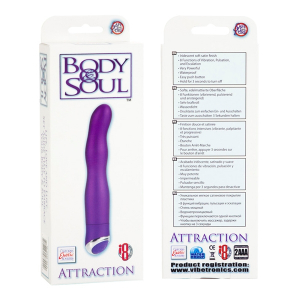 Вибратор BODY&SOUL ATTRACTION PURPLE 0535-43BXSE