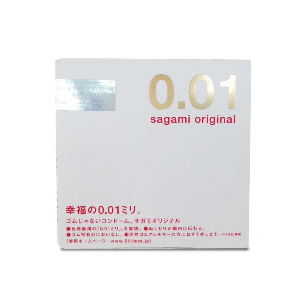 Презервативы полиуретановые Sagami №1 Original 0.01