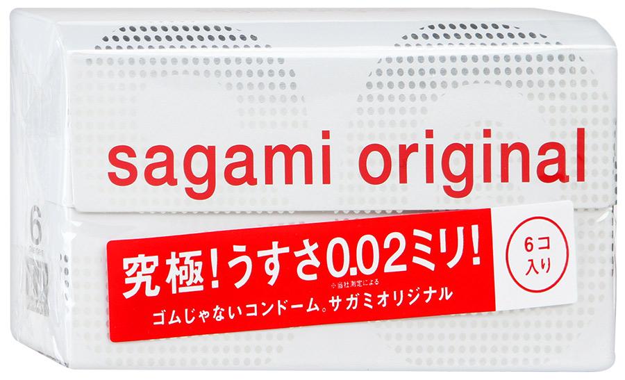 Презервативы полиуретановые Sagami №6 Original 0,02