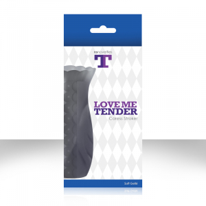 Стимулятор LOVE ME TENDER CARESS CHARCOAL NSN-0603-23