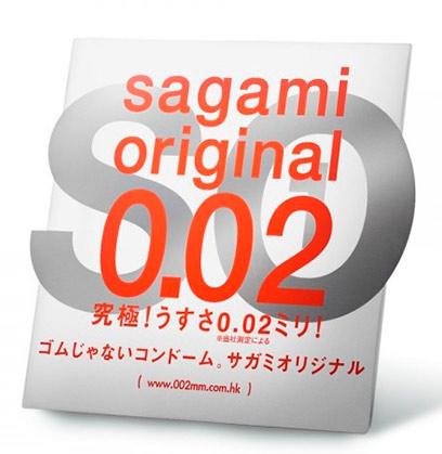 Презервативы полиуретановые Sagami Original №1 0.02