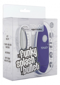 Вибропуля Funky Splash Purple 10084TJ