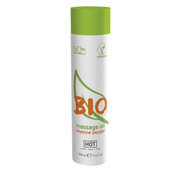Массажное масло HOT BIO Massage oil cayenne pepper 100 мл 44153